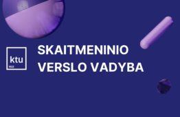 KTU Kauno technologijos universitetas, skaitmeninio verslo vadyba